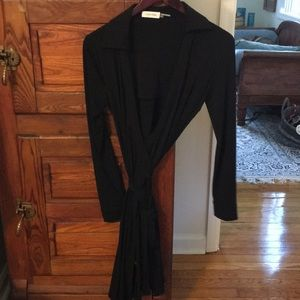 Classic wrap dress, never worn, perfect condition.